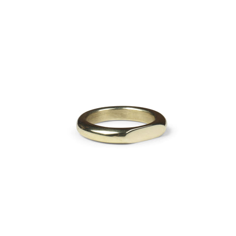 Secret Two Stones Ring - Solid Gold and Diamonds
