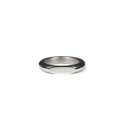 Merging Moons Ring - Sterling Silver