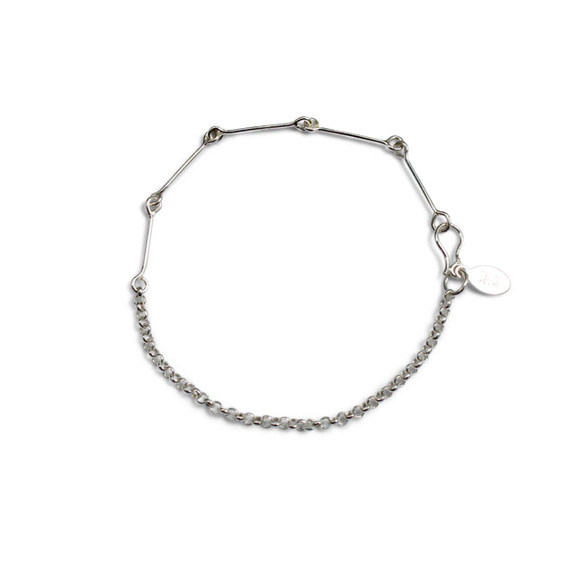Fine Connection Bracelet - Sterling Silver