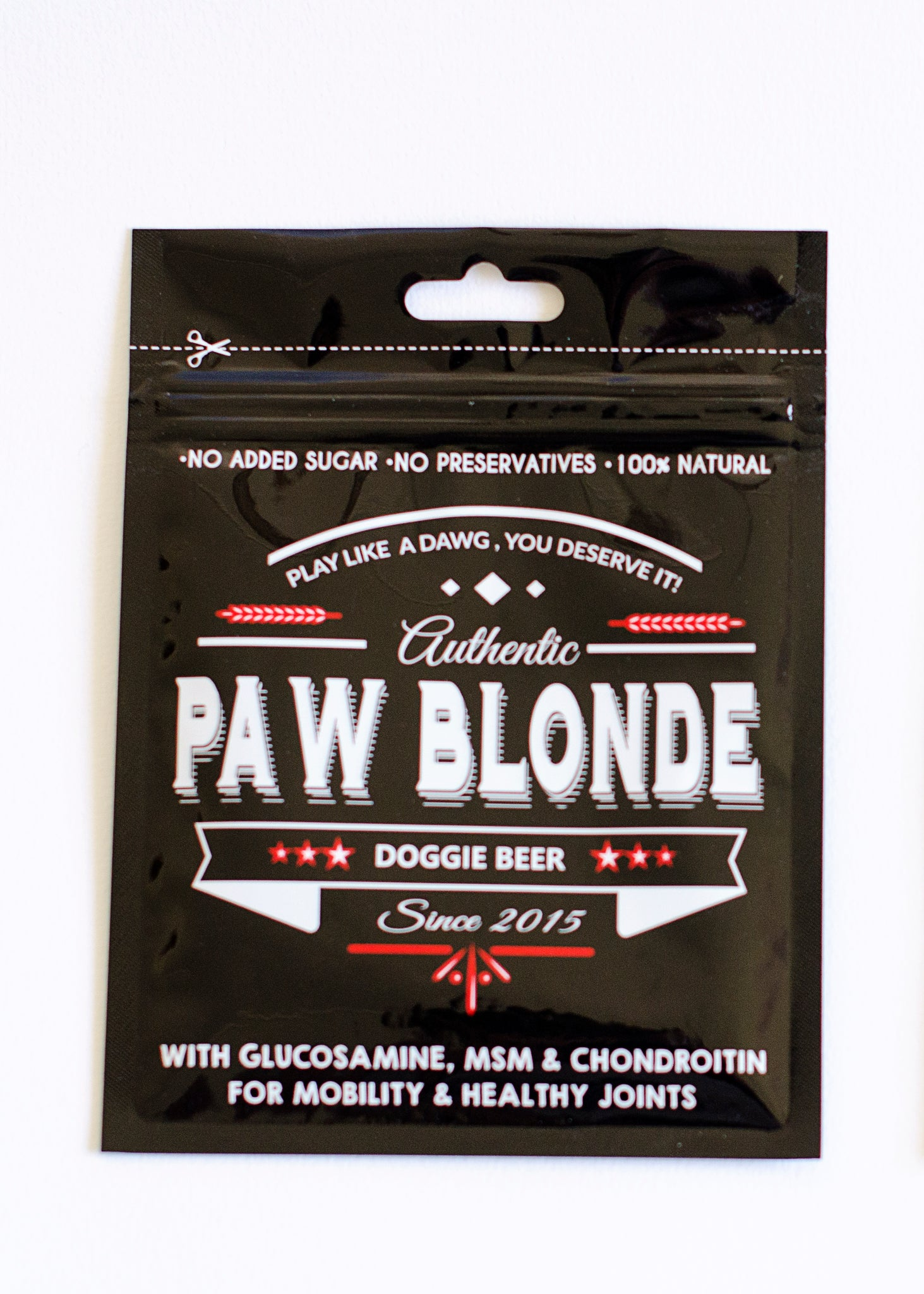PAW BLONDE DOGGIE BEER