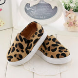 baby girls boy leopard print shoe slip ons kids boutique childrens clothing funky cool winter warm
