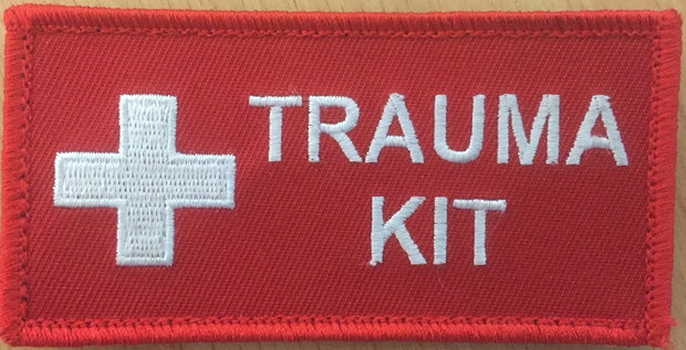 Small Trauma Kit Patch - Red