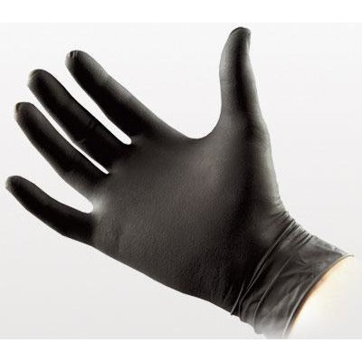 Black Nitrile Gloves (Box)