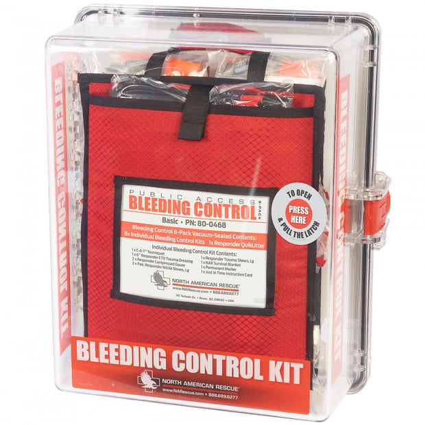 Public Access Bleeding Control Station