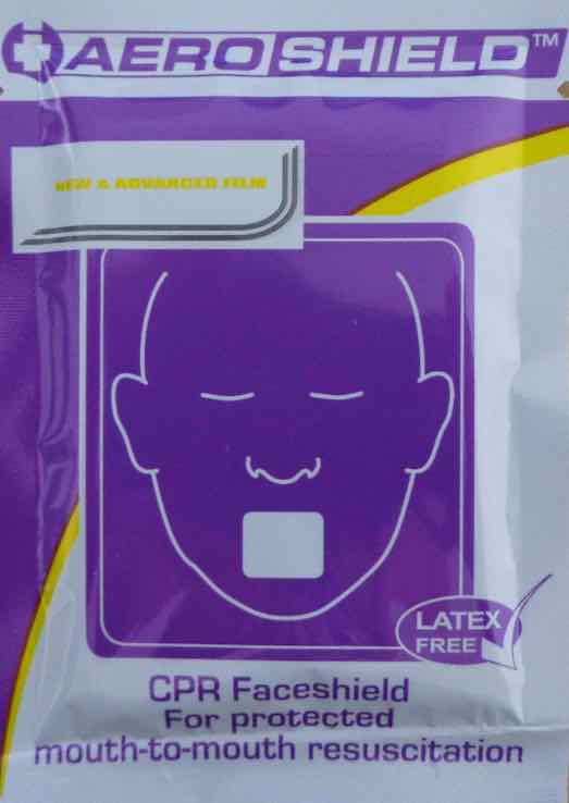 Aerorescue Premium Face Shield - Disposable in Sachet-Single