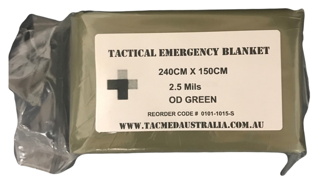 Tactical Emergency Blanket