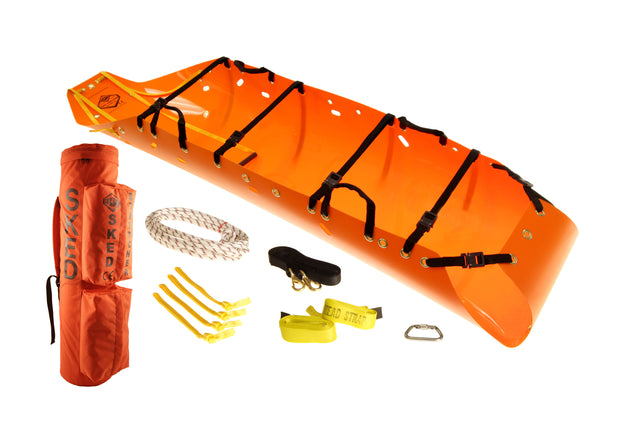 Sked Basic Rescue Orange Components - Cobra Buckles