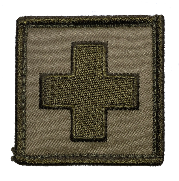 TacMed Medic+ Patch - Green