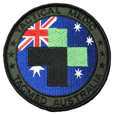 TacMed Medic Patch- Round