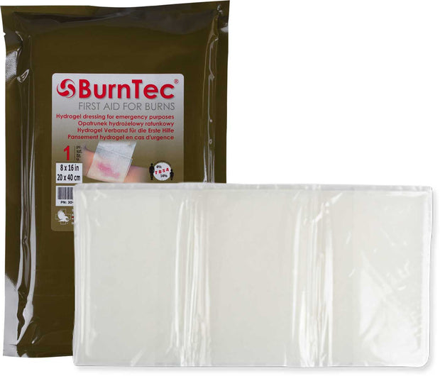BurnTec 4 x 16in (10 x 40cm) Dressing - Expiry 05-2021