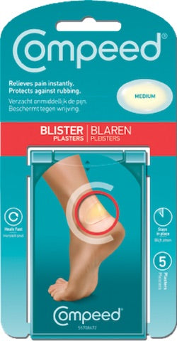 Compeed Blister Medium Patch - Pack of 5