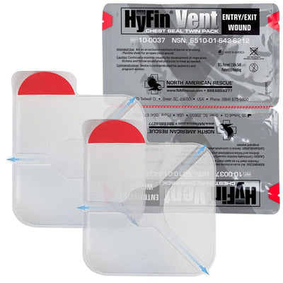 HyFin Vent Chest Seal - Twin Pack