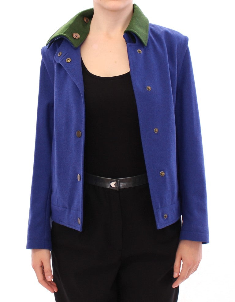 Habsburg Blue Green Wool Jacket Coat