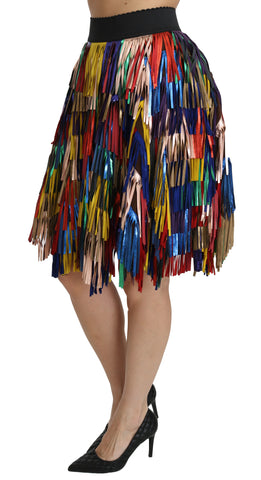 White Pattern Leather Sneaker Shoes