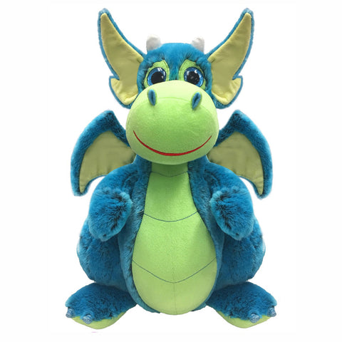 BLUE DRAGON PLUSH TOY - 25cm