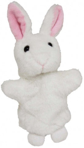 BUNNY HAND PUPPET soft plush toy by Elka
