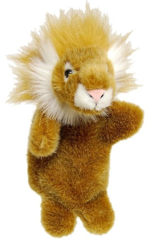 LION HAND PUPPET soft plush toy by Elka
