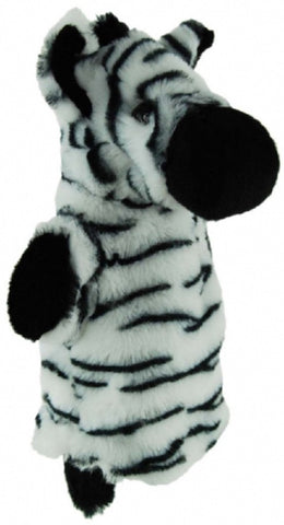 ZEBRA HAND PUPPET soft plush toy by Elka