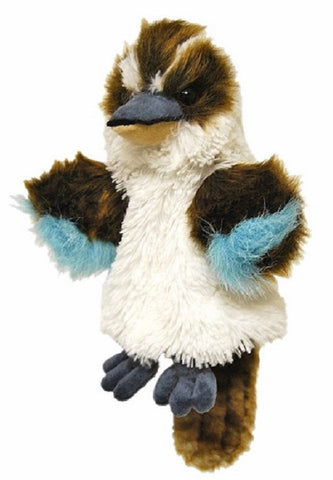 Kookaburra Hand Puppet with sound soft plush toy by Elka Australia