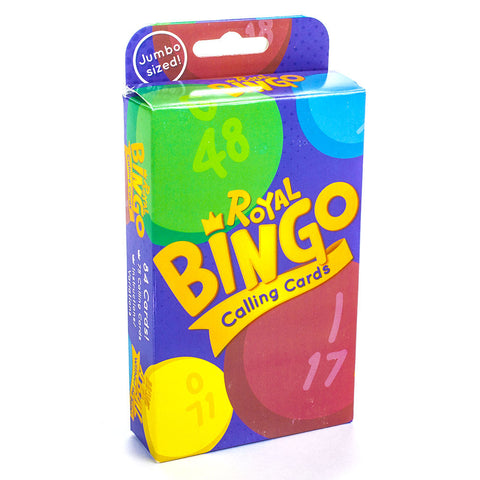 Jumbo Bingo Calling Cards - Australia only - Better Buy Now Games Australia