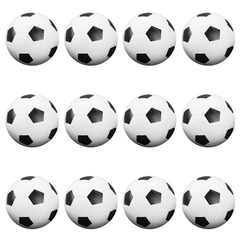 12 Black and White Soccer Style Foosballs - Australia only - Better Buy Now Games Australia