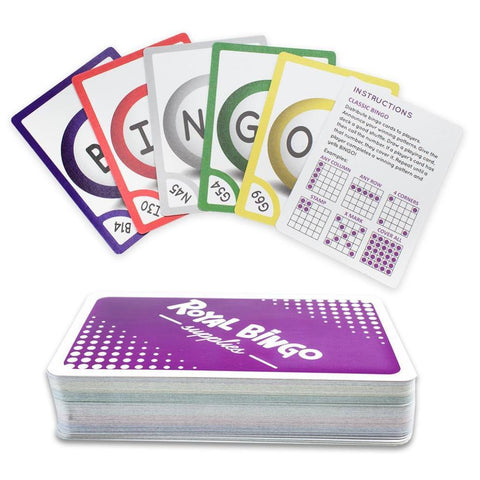 Pocket Bingo Calling Cards - Australia only - Better Buy Now Games Australia
