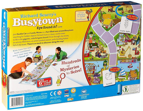 Richard Scarry's Busytown Eye found it! Game - Board Game - Australia only - Better Buy Now Games Australia