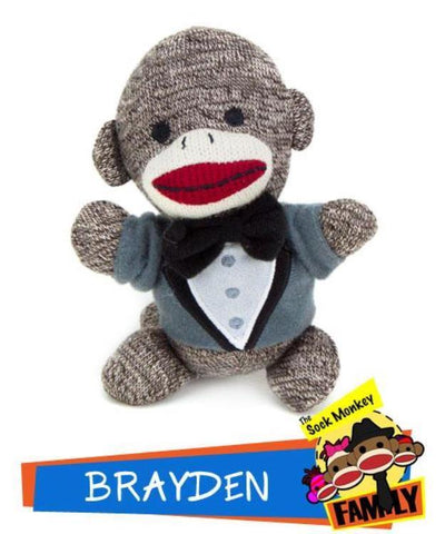 Brayden from The Sock Monkey Family - Australia only - Better Buy Now Games Australia