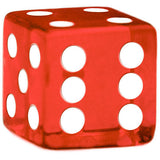10 Red Dice - 19 mm - FREE Shipping - Australia only - Better Buy Now Games Australia