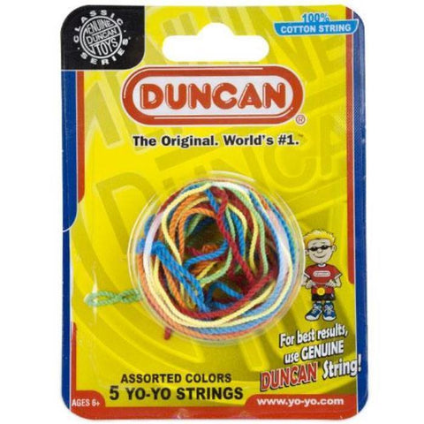 Duncan YoYo Replacement Strings (Five Pack, Assorted Colors) - Australia only - Better Buy Now Games Australia