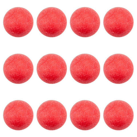 Pack of 12 Red Textured Foosballs - Australia only