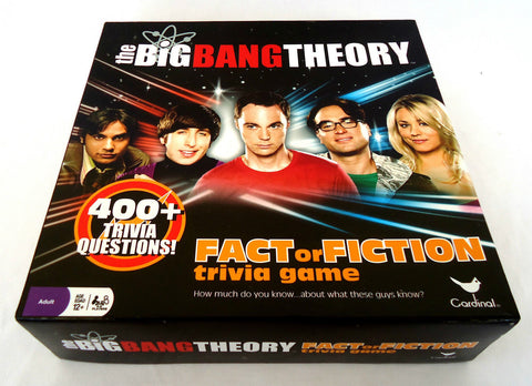 The Big Bang Theory Trivia Game - Australia only - New Sealed - 12+ 2-8 Players