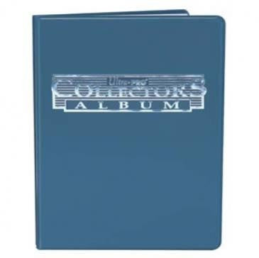 4 Pocket Collectors Portfolio Blue - Australia only