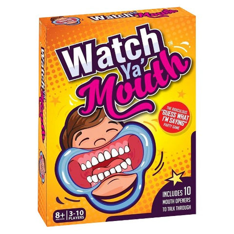 Watch Ya Mouth - Australia only - Better Buy Now Games Australia