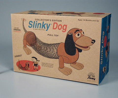 Collector's Edition Original Slinky Dog in Retro Packaging - Australia only