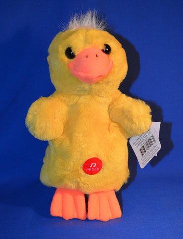 DUCK HAND PUPPET WITH QUACK NOISE - ELKA AUSTRALIA