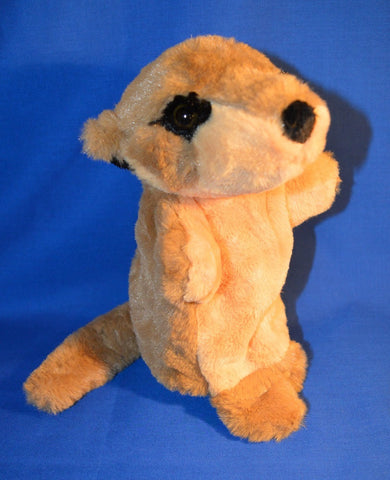 HAND PUPPET MEERKAT - Plush Toy by Elka Australia