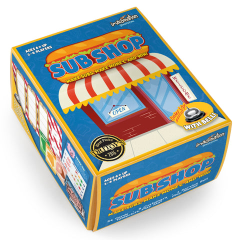 Sub Shop Board Game - Australia only - Better Buy Now Games Australia