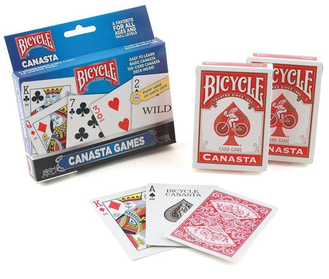 Bicycle Canasta Set - Australia only