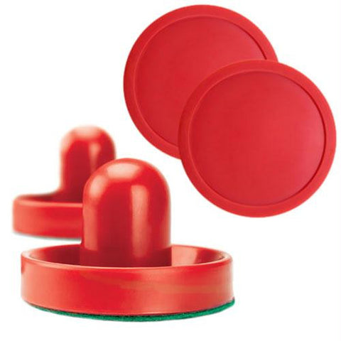 Pair of Air hockey Pucks and Paddles (Full Size) - Better Buy Now Games Australia