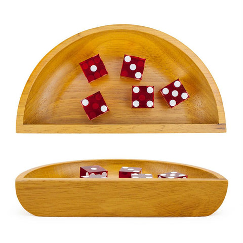 Wooden Craps Dice Boat - Better Buy Now Games Australia