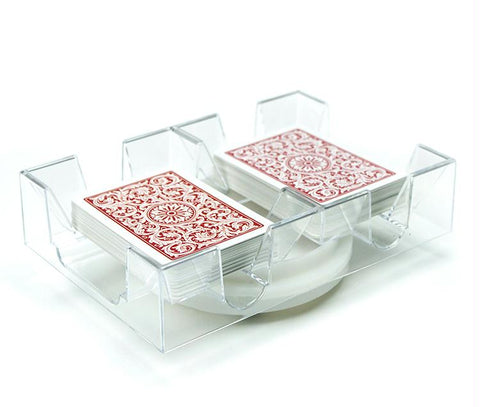 2 Deck Rotating Card Tray - Better Buy Now Games Australia