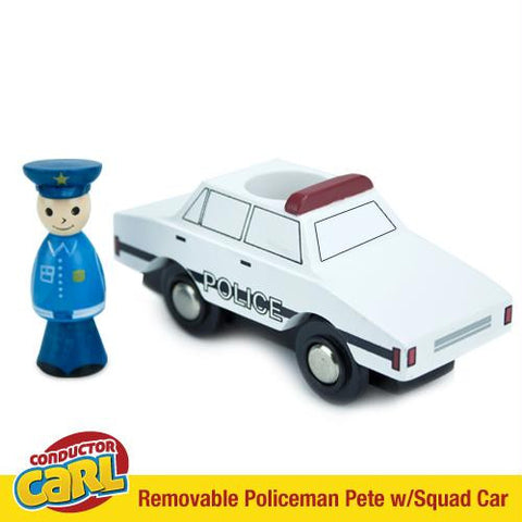 Policeman Pete Squad Car with Removable Character - Australia only