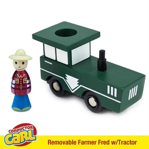 Farmer Fred Tractor with Removable Character - Australia only