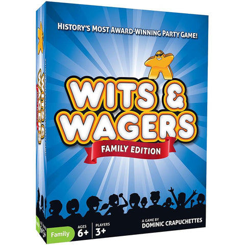 Wits & Wagers Family - Australia only - Better Buy Now Games Australia