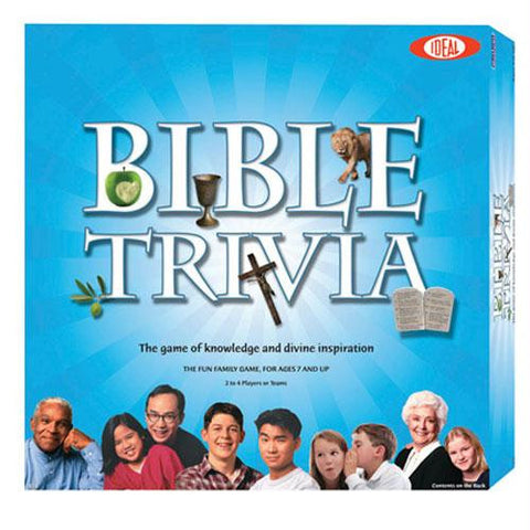 Ideal Bible Trivia Game - Minor Box Damage - Discount - Australia only