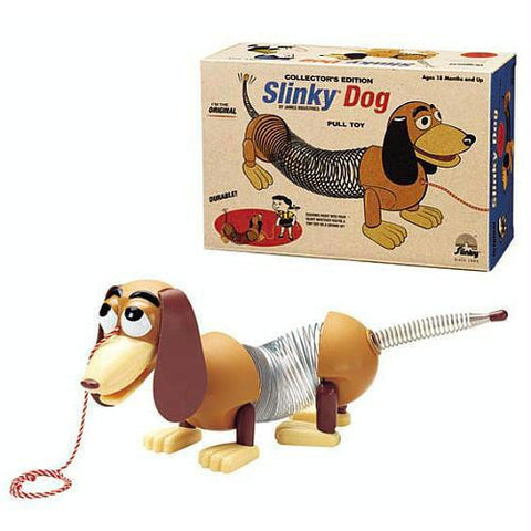 Collector's Edition Original Slinky Dog in Retro Packaging - Better Buy Now Games Australia