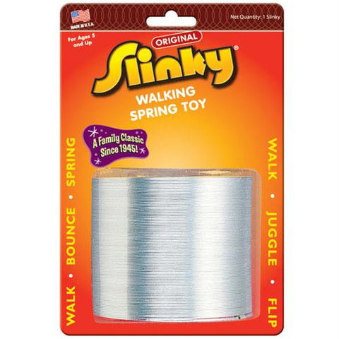 Original Metal Slinky on Blister Card - Australia only - Better Buy Now Games Australia