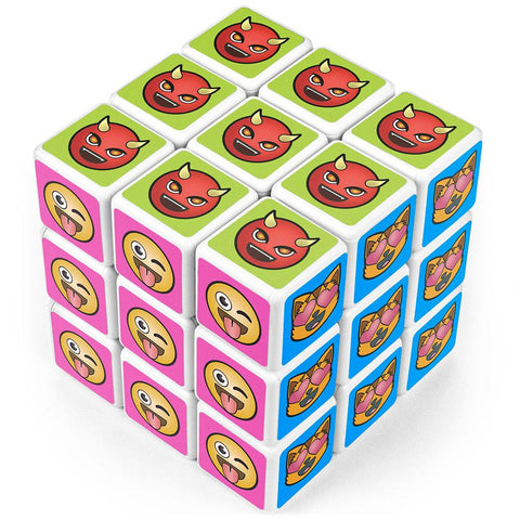 Emoji Puzzle Cube - Better Buy Now Games Australia