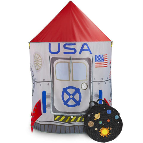 Space Adventure Roarin' Rocket Play Tent - Australia only